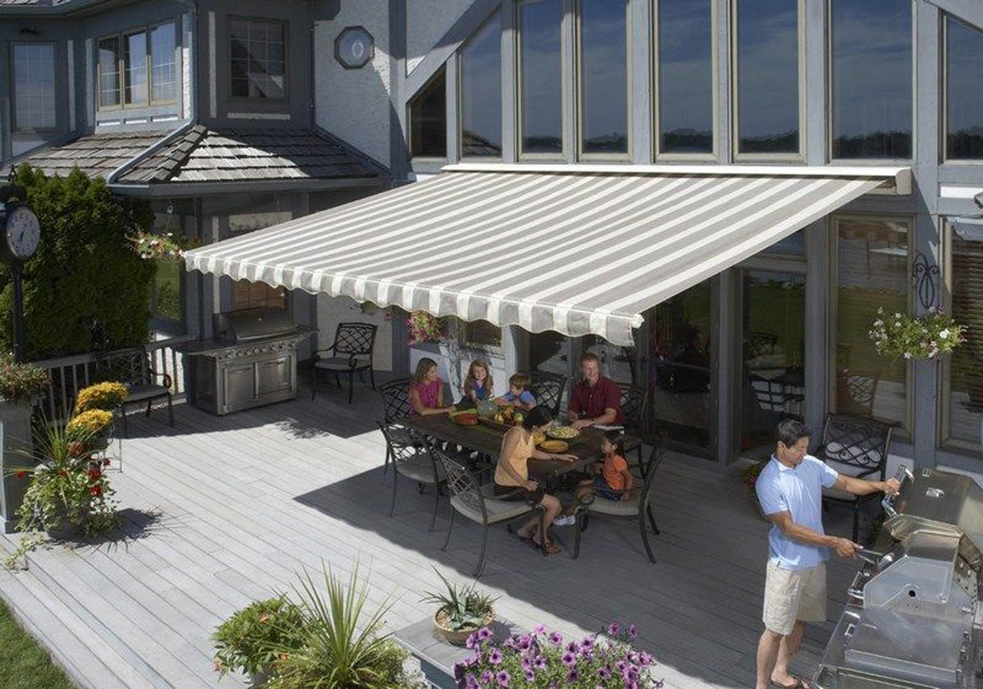 Columbus Retractable Awnings Sunsetter Awnings