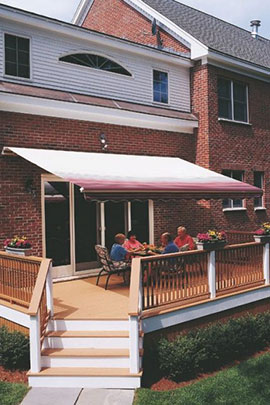 Cleaning Your Awnings Easily