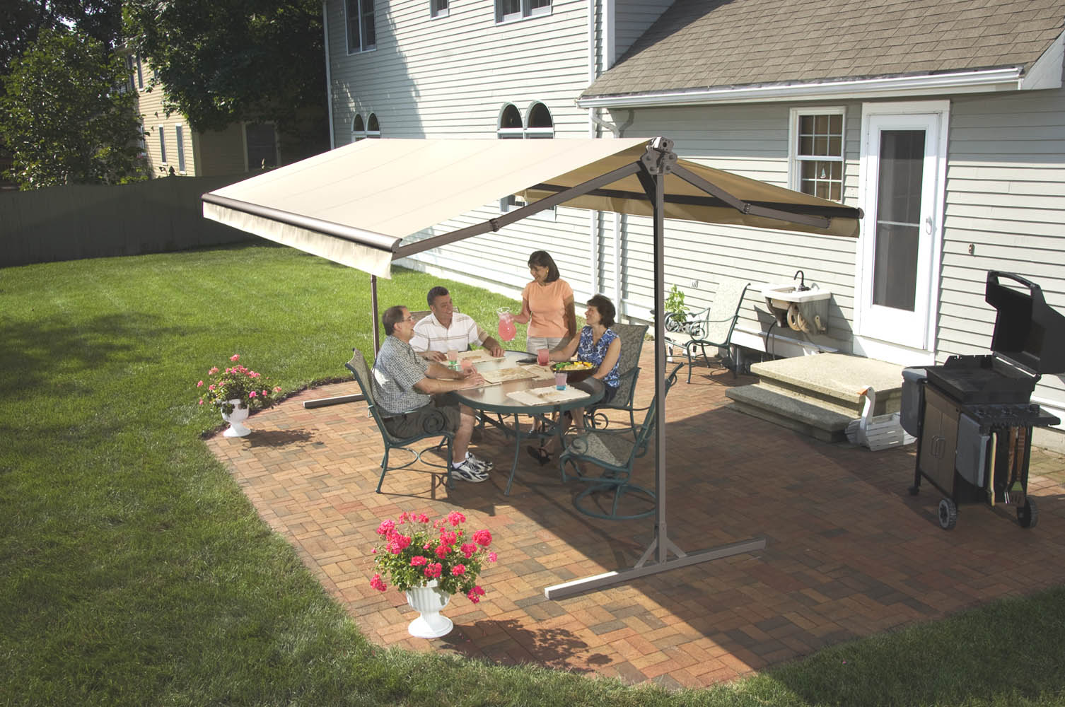 Freestanding Awnings Weather Armor