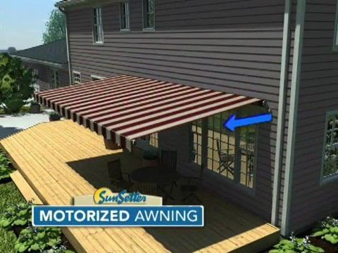 Motorized Pro Awnings Electric Awnings