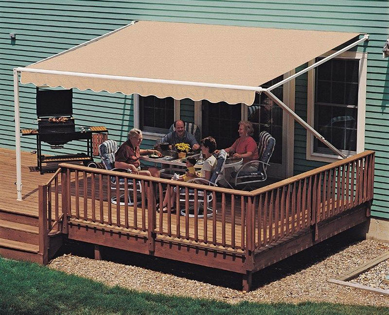 Manual Retractable Awning Awnings